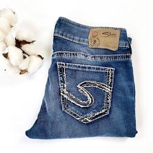 Suki Ultra Soft Capri Silver Jeans